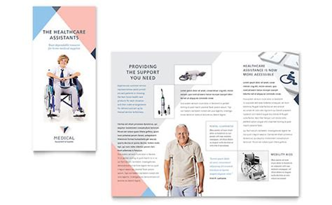 home care brochure template health care brochures templates designs