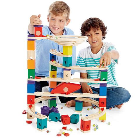 Which Hape Marble Run Quadrilla - hape quadrilla the challenger marble run