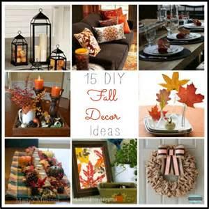 Diy Fall Decor Ideas - 15 diy fall decor ideas parties365