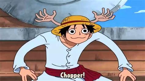 episodio 130 luffy imitando chopper