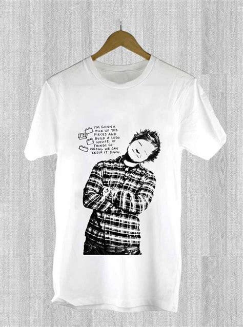 Tshirt Cac New Desain ed sheeran lyrics design for t shirt mens and t shirt