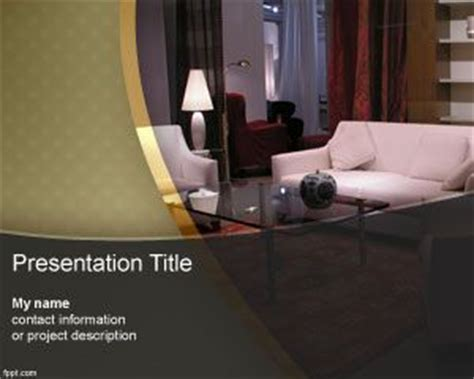 Furniture Powerpoint Template Hotel Powerpoint Presentation Templates