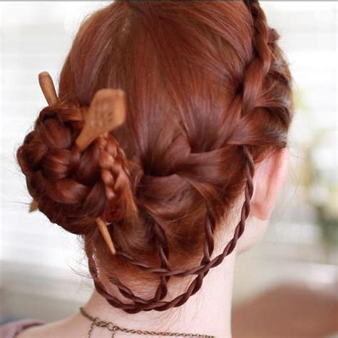 chopstick to platt hairstyle 17 best images about complicated formal hairstyles on
