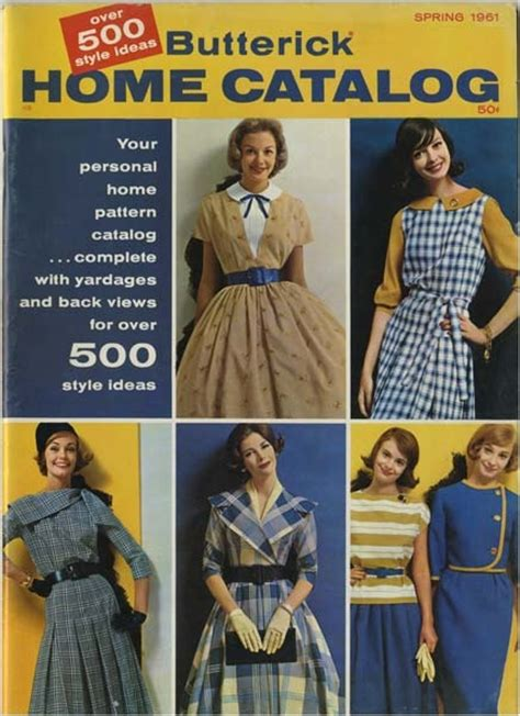 vintage pattern catalog 41 best images about my vintage butterick sewing pattern