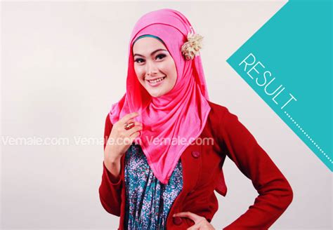 foto cara pake pasmina foto tutorial hijab pasmina simple hairstyle galleries