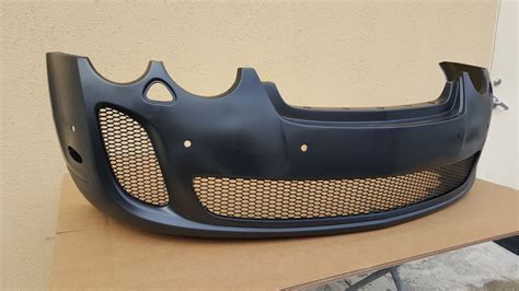bentley continental gt front bumper 2005 2011 bentley continental gt ss style front bumper cover