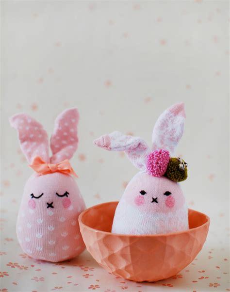 tutorial sock rabbit decorazioni per pasqua coniglietti dal riciclo creativo
