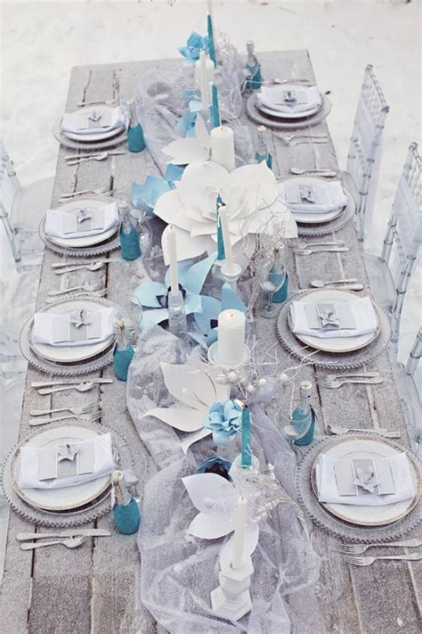 66 best images about baby blue white and silver wedding on winter wedding ideas