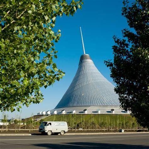 Pictures: World's Biggest Tent Rises in Kazakhstan