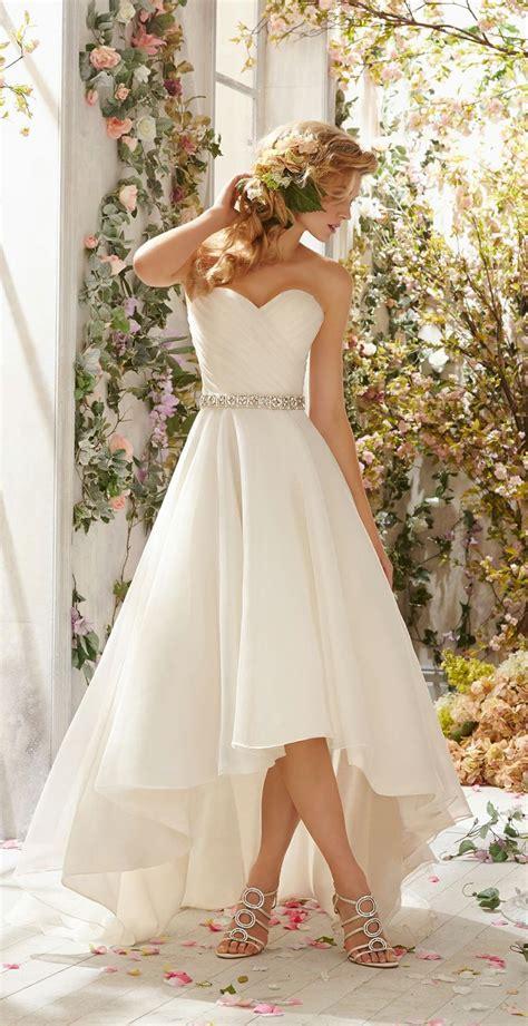 imagenes de vestidos de novia con una sola manga vestidos de novia cortos para boda civil fotos aqu 237