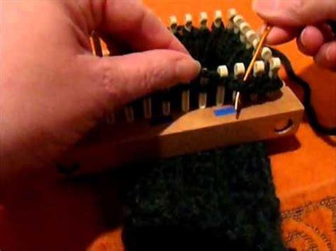stretchy bind loom knitting stretchy bind in the loom knit loom