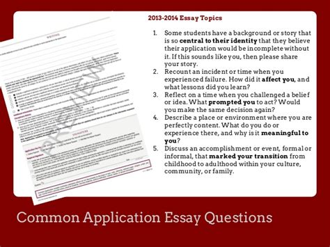 Common College Application Essay Questions 2013 Affordable Price Personal Statement Prompts 2013 Common App