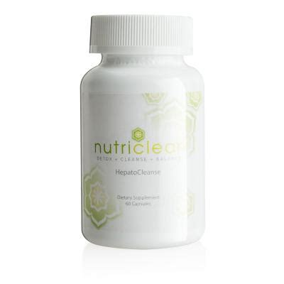 Nutriclean Detox Review by Liver Cleanse Nutriclean 174 Hepatocleanse Supplement
