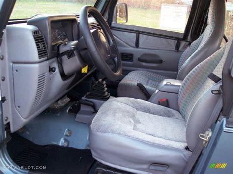 Jeep Wrangler Upholstery by 1997 Jeep Wrangler Sport 4x4 Interior Photo 40966912