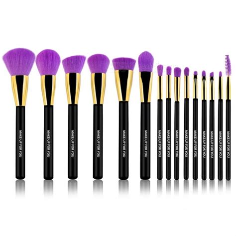 Make Up For You Brush Set make up for you 15 cosmetic makeup brush set free