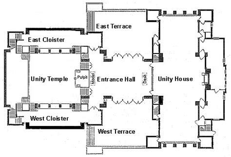 mandir floor plan unity temple