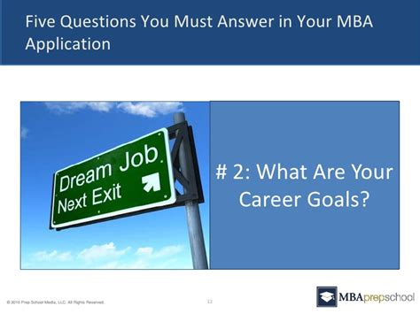 What Does An Mba Do For Your Career by Five Questions You Must Answer In Your Mba Application