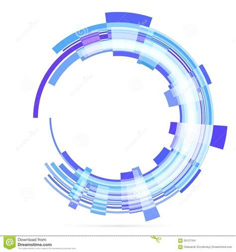 imagenes de vector unitario abstract retro technology circle vector stock vector