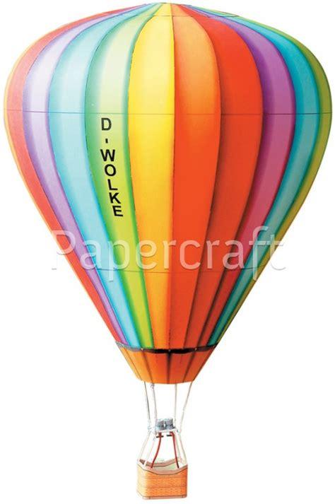 Balon Cincin Balon I Do pap 237 rov 233 model vystřihov 225 nka horkovzdušn 253 bal 243 n papercraft cz