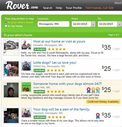 rover sitting best for finding qualified pet sitters techlicious