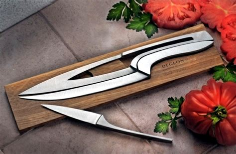 Set of chef knives home ? little room for small kitchens