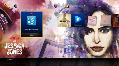 ps4 themes marvel ps4 gets free marvel s jessica jones dynamic theme and it