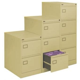 4 Drawer Cream Executive Filing Cabinet