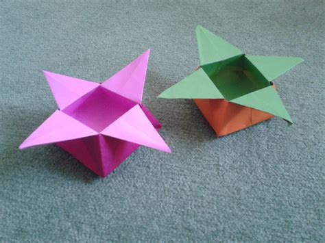 Shaped Origami Box - origami for the resources of islamic homeschool in