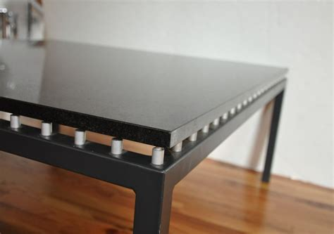 Black Granite Coffee Table At 1stdibs Black Granite Coffee Table