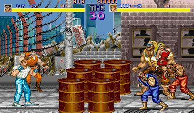 final fight videogame by capcom