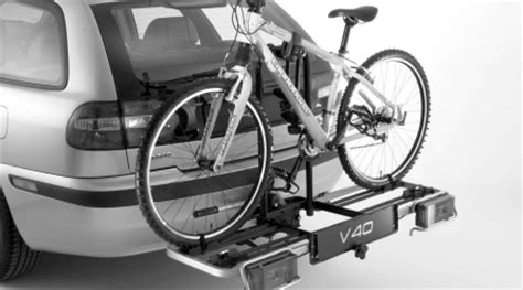 volvo s40 bike rack volvo s40 bicycle rack tow hitch mounted