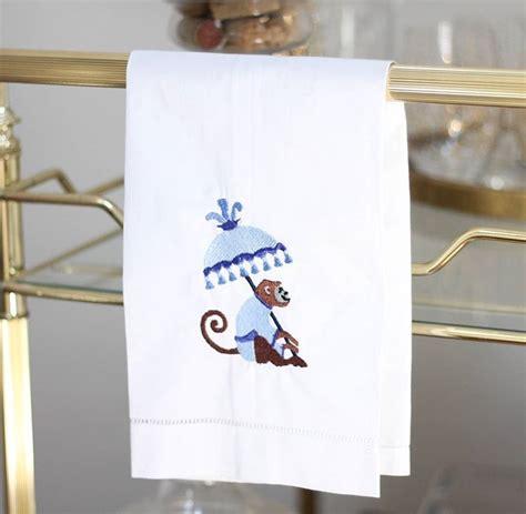 Gcp Monkey Umbrella Embroidered exclusives herrington design