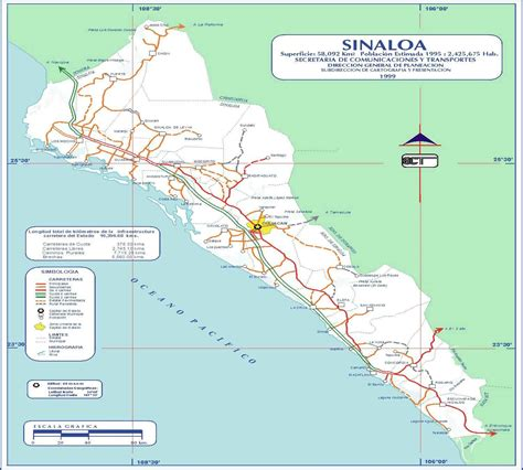 mapa de guasave sinaloa secretar 237 a de turismo planeador de viajes