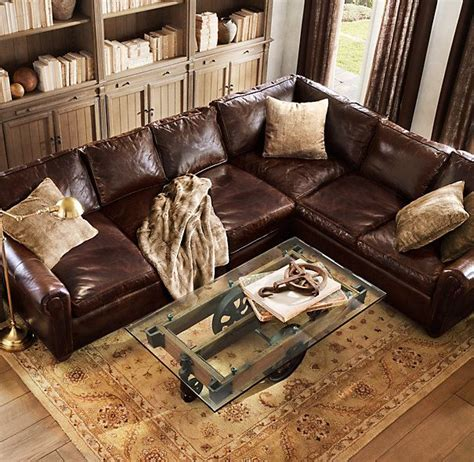 leather sofa throws luxe faux fur throws from restoration make your own get
