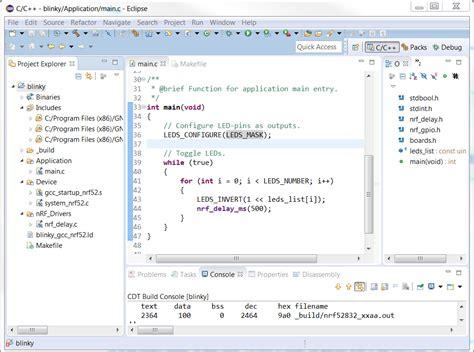 gcc ffunction sections tutorials nordic developer zone