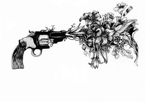 Shooting flowers: one student's take on gun control ... American Football Tattoos Designs