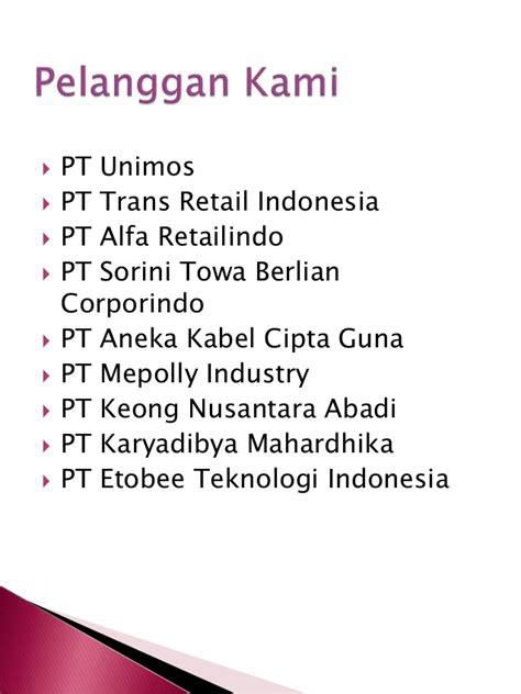 Vcd Company Profile Pt Nusantara company profile