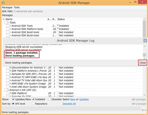 android sdk windows android sdkのインストール方法まとめ