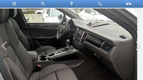 Porsche Macan Agate Grey Interior Pixshark Com