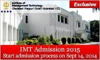 Imt Ghaziabad Distance Learning Mba 2017 by Imt To Start Admission Process For Pgdm 2015 17 Batch On