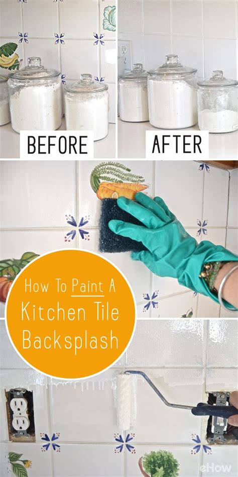 how to paint kitchen tile backsplash best 25 paint tiles ideas on paint bathroom