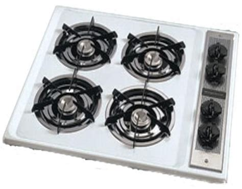 26 Inch Gas Cooktop frigidaire fgc26c3aw open burners gas cooktop 26 quot wide white with black accents fgc26c3aw