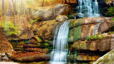 tropical waterfall backgrounds desktop background