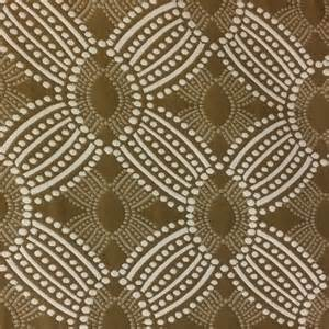 timezone bark brown dot geometric upholstery fabric