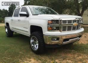Chevy Silverado Wheels 2015 Wheel Offset 2015 Chevrolet Silverado 1500 Aggressive 1