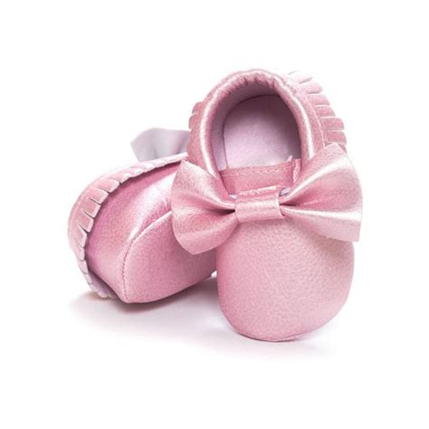 Baby Soft Sole Leather Crib Shoes Infant Boy Girl Toddler Baby Crib Boots