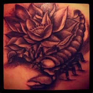 Lotus Horoscope Lotus And Zodiac Scorpio Image Tattooshunt