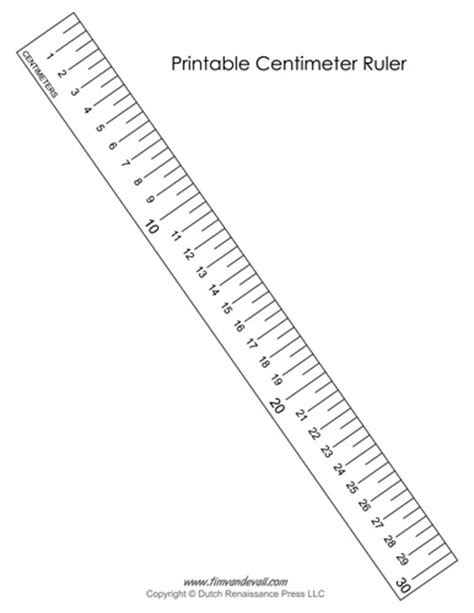 Centimeter Ruler Template printable centimeter ruler tim s printables