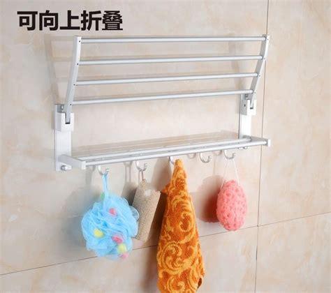 Rak Handuk Gantungan Handuk Rak Kamar Mandi 1 jual rak aluminium tempat gantungan handuk baju dinding