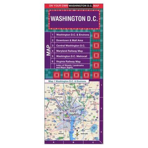 washington dc laminated map washington d c laminated map